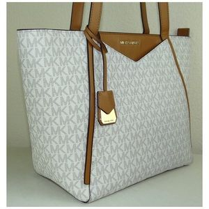 af2a873780f4 Michael Kors Bags - MICHEAL KORS WHITNEY SMALL LOGO TOTE